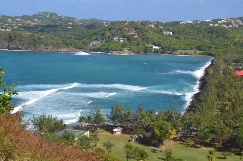 Utsikt från Pigeon Island