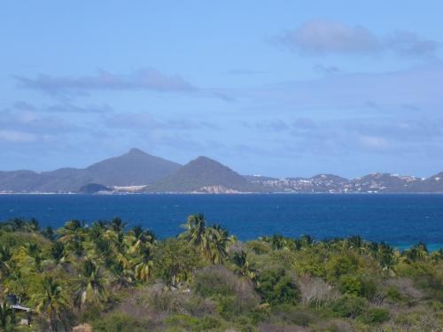 Mayreau, utsikt mot Canyon Island