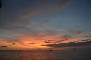 Solnedgång över Mayreau