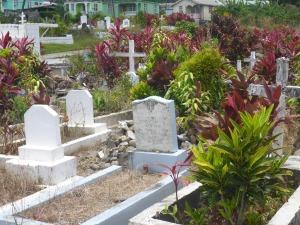 Kyrkogården i Portsmouth