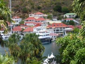 Utsikt över Gustavia