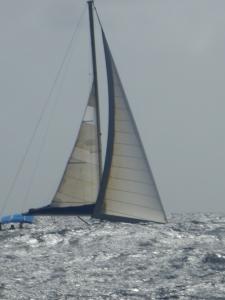 Hög sjö på väg mot St.Lucia