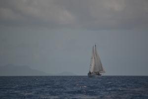 På väg till Martinique