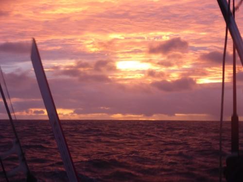 Strax efter solnedgången, kl. 18.40