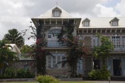 Slottet på Depaz plantage
