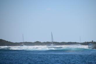 Swell utanför Culebrita