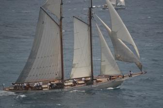 Vackra skepp på Antigua